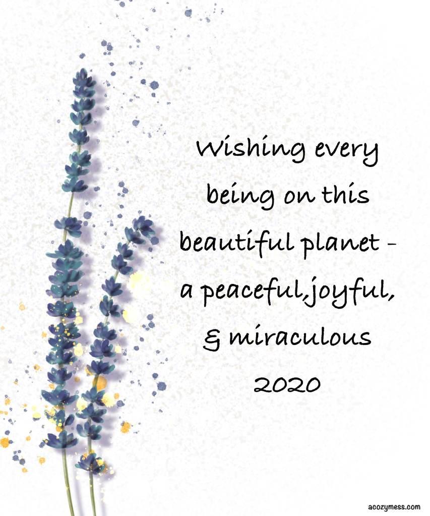 new year illustration 2020